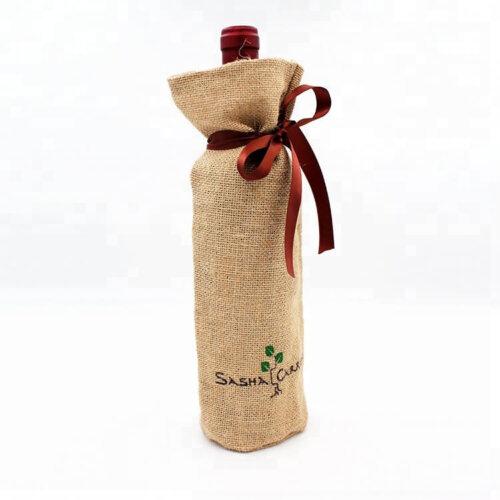 Custom-logo-wine-bottle-jute-bags-JD008-3