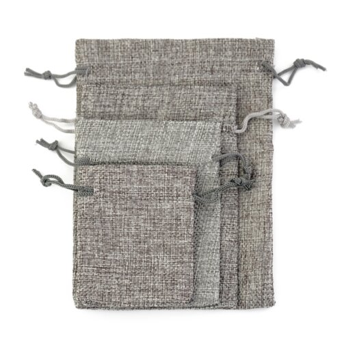 Gift-mini-drawstring-gray-jute-dust-bag-JD007-3