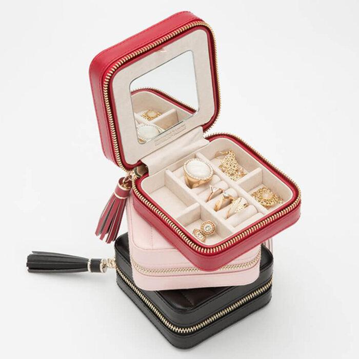 Leather-Jewelry-Zip-Case-Storage-box-JB007-2