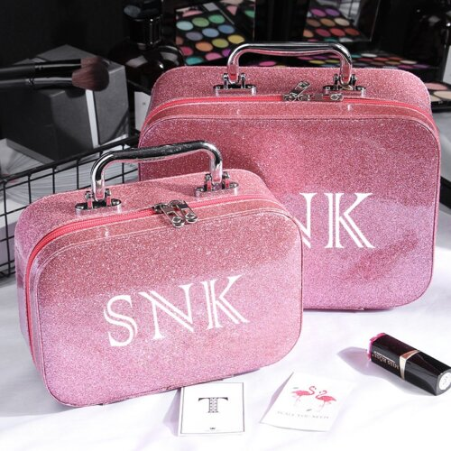 Luxury-Ladies-Pink-Travel-Makeup-Case-CMC007-2