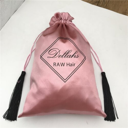 Rose-gold-satin-bags-with-tassel-silk-drawstring-4